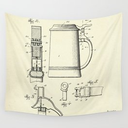 Beer Stein-1914 Wall Tapestry