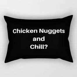Chicken Nuggets and Chill Rectangular Pillow