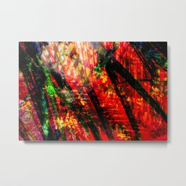 Palm Frond + Beyond [x] Metal Print
