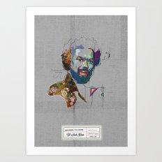 Gill Scott Heron Art Print