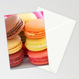 MACARONS WORLD 458 Stationery Cards
