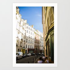 Montmartre series 4 Art Print