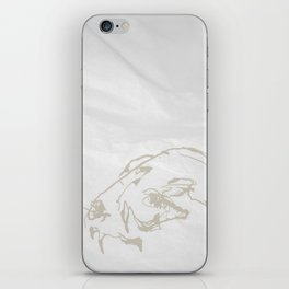 Pale Skull iPhone Skin