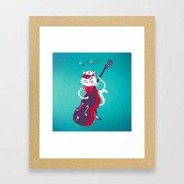 Double Bass Framed Art Print