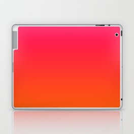 Bright Pink and Orange Ombre Laptop & iPad Skin