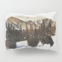 Arctic Grizzly Bear Pillow Sham