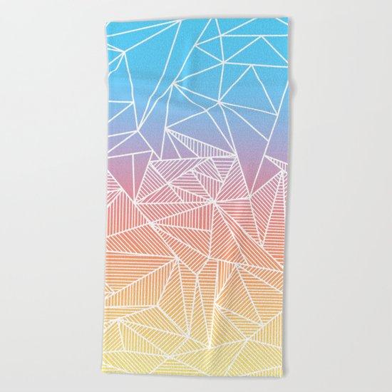 Bakana Rays Beach Towel