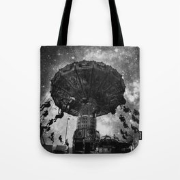 Take Flight - Black & White Tote Bag