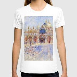"Auguste Renoir ""The Piazza San Marco, Venice"" T-shirt"