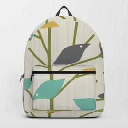 Mid Century Modern Birdsong Backpack