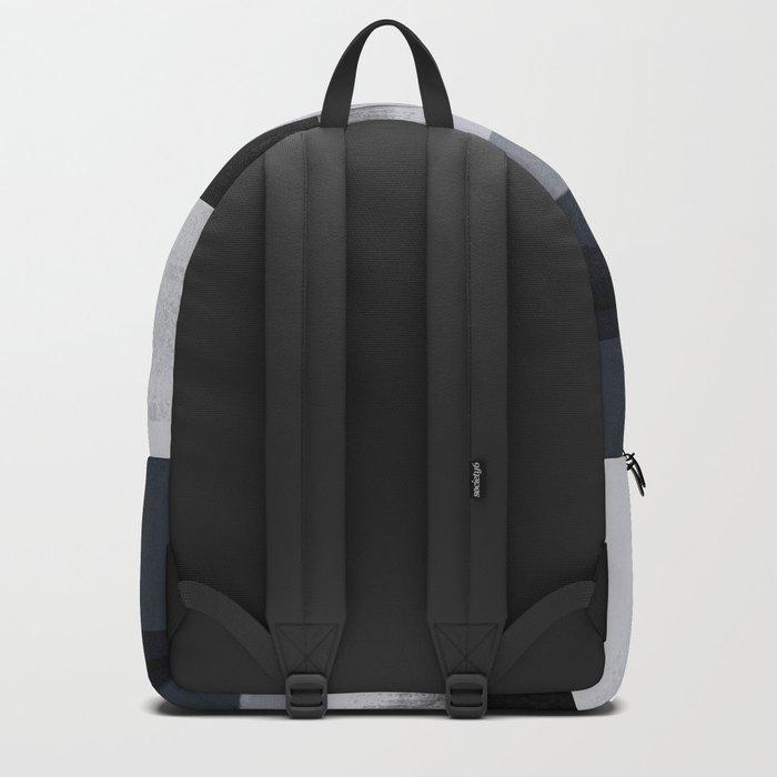 White Wash, Dark Alleys, Blue Wharf Backpack