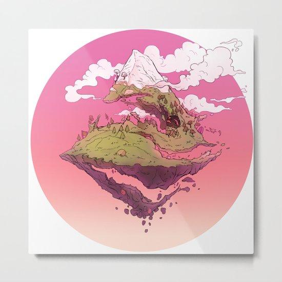 Spiral Mountain Metal Print