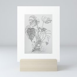 Monstera. Living Mini Art Print