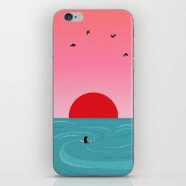 Tempus fugit iPhone Skin