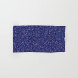 Yer a Wizard - Blue + Bronze Hand & Bath Towel