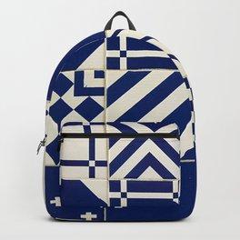 Tiles Old Porcelain Pattern Backpack