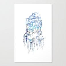 R2D2 Print Canvas Print