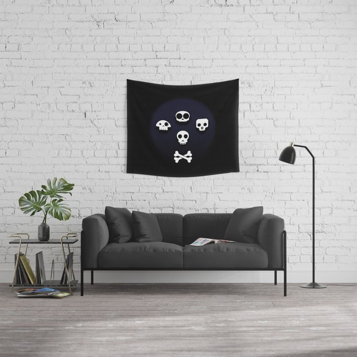 Easy come, easy go. Little high, little low. Wall Tapestry