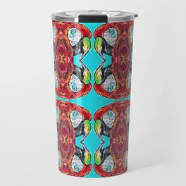 Parrot Macaw Ca-caw Travel Mug