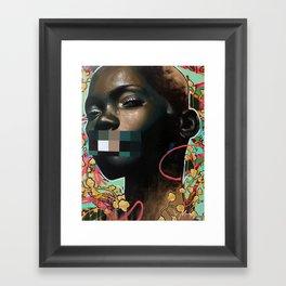 Free Speech Framed Art Print