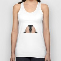 bane Tank Tops featuring Bane by Mr. Peruca