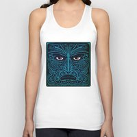 maori Tank Tops featuring maori style 03 by Alexis Bacci Leveille