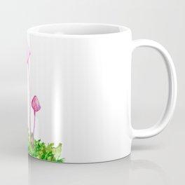 Pink Mushrooms Coffee Mug