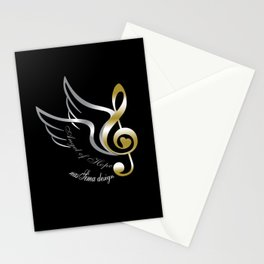 Angel of Hope Wings Stationery Cards