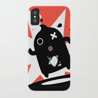 runner iPhone & iPod Cases featuring Runner by agustain