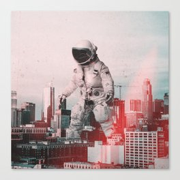 City Walk Canvas Print