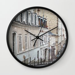 Montmartre, Paris. Wall Clock