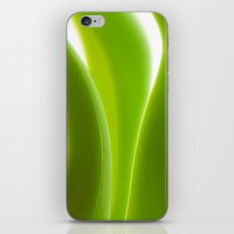 Green Leaves abstract 029 iPhone Skin