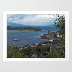From MacCaig's Tower Art Print