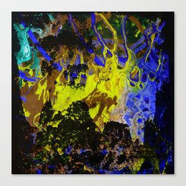 CRAZY PLAY OF COLORS-2 Canvas Print