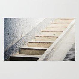 Hospital Stairwell: Sachsenhausen Concentration Camp, Oranienburg, Germany Rug