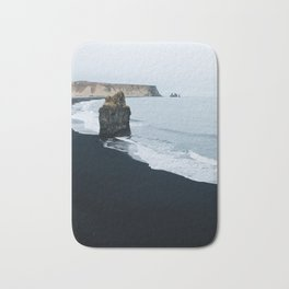 Vik Iceland Black Sand Beach Bath Mat