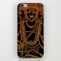 hindu iPhone & iPod Skins featuring Hindu by Littlefox