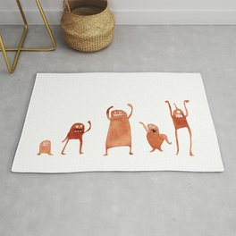 Monster Dance Party Rug