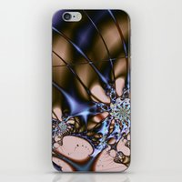 sci fi iPhone & iPod Skins featuring Sci-fi Creature by tjustleft