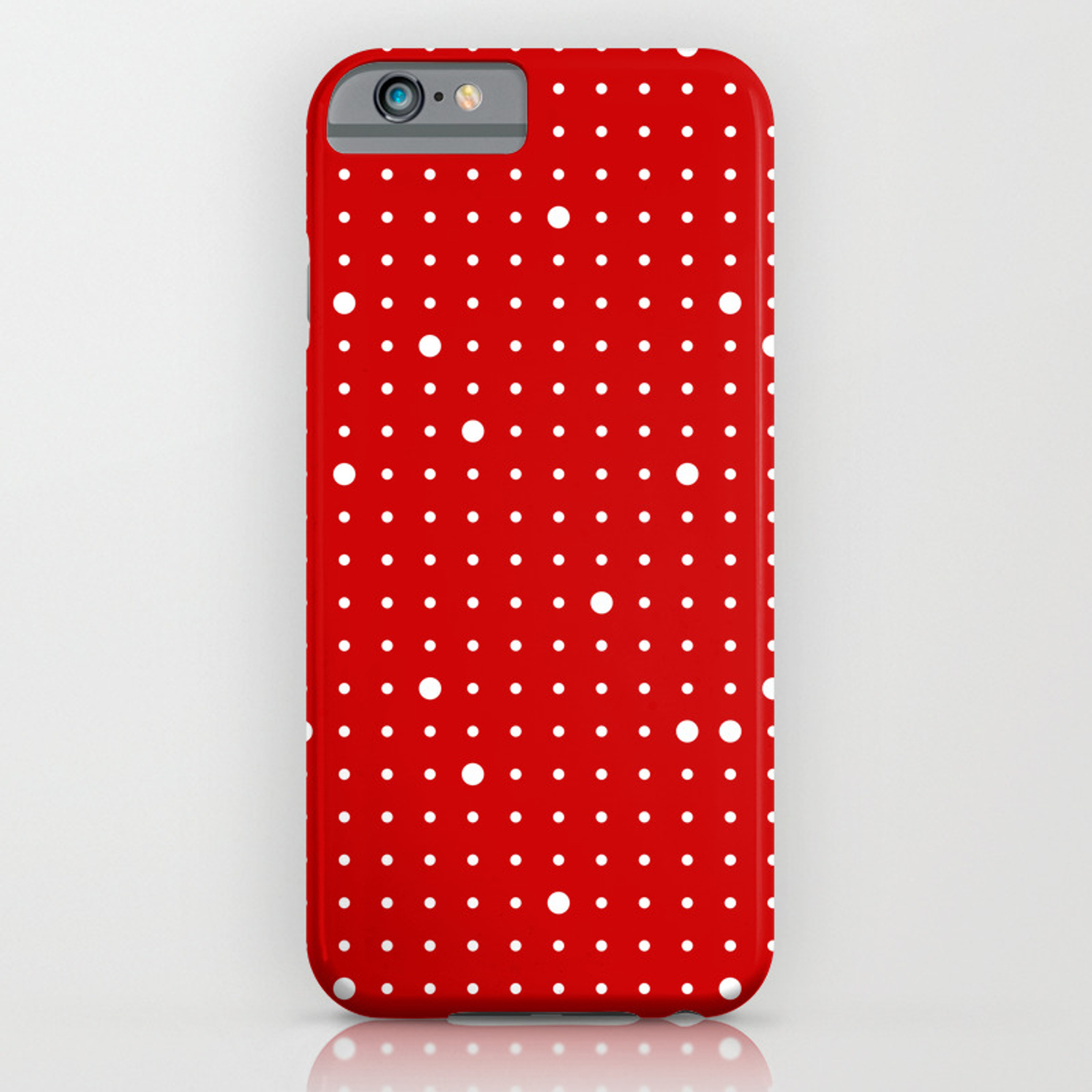 The big and the small one iphone case