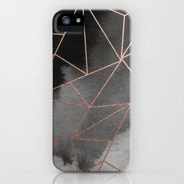 Abelie (Rose Gold) iPhone Case