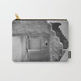 Ansel Adams - Taos Pueblo Church Carry-All Pouch