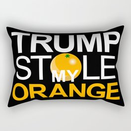 Trump Stole My Orange Rectangular Pillow