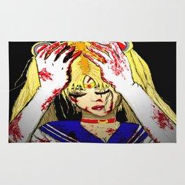 Bloody Sailor Moon Rug