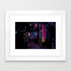 T0:KY:00 / Asakusa Nights Framed Art Print