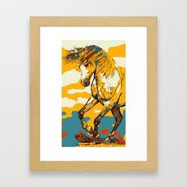 Hors Art Prints, Horse Print Printable Wall Art Large Horse Poster Farmhouse Decor Horse Art Framed Art Print