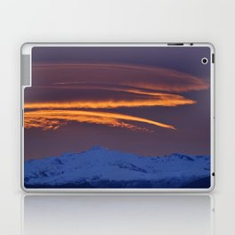 """Sunrise at the mountains"" Laptop & iPad Skin"