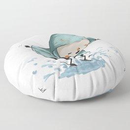 Goji welcomes the rain! Floor Pillow