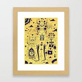 tools n chums Framed Art Print