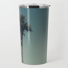 Vintage Film style Palm tree Travel Mug